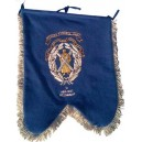 Black Watch Embroidery Pipe Banner