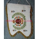 Full Crown Embroidery Pipe Banner