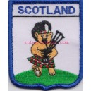 Scotland Teddy Piper Embroidered Badge