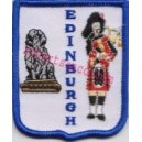 Edinburgh Piper Embroidery Badges