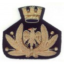 Embroidered Frieze Cap Badge
