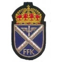 FFK Hand Embroidered Cap Badge
