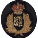 Hand Embroidery Badge With Crown
