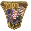 USA Military Pocket Embroidery Badge