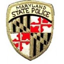 Maryland State Police Pocket Embroidery Badge