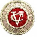 Vassar College Pocket Embroidery Badge