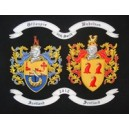 Double Embroidered Coat of Arms