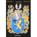 German Family Coat of Arms Embroideries