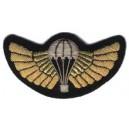 Wings Custom Embroidery Badge