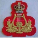 Band Lyre Arm Badge