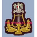 Libya Army Band Lyre Badge